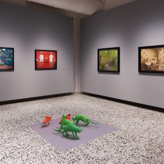 """Mostra """"Sandy Skoglund. Visioni Ibride"""", Fondazione Camera, Torino"""