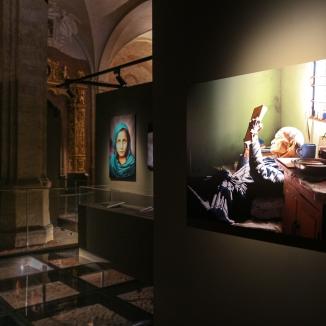 La mostra nella corte medievale di Palazzo Madama (TO)