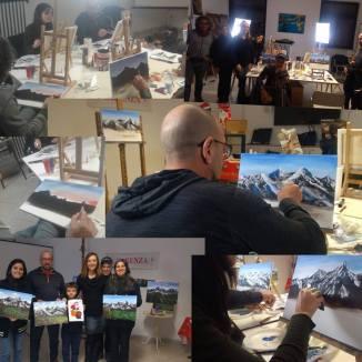 """Foto scattate durante la giornata di ArtParty, in collaborazione con """"Carenza Belle Arti"""" (Bari), per il supporto tecnico."""