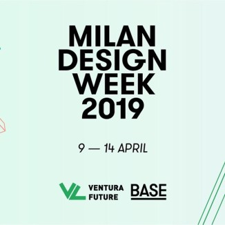 Locandina Milano Deisgn Week 2019, BASE+VENTURA