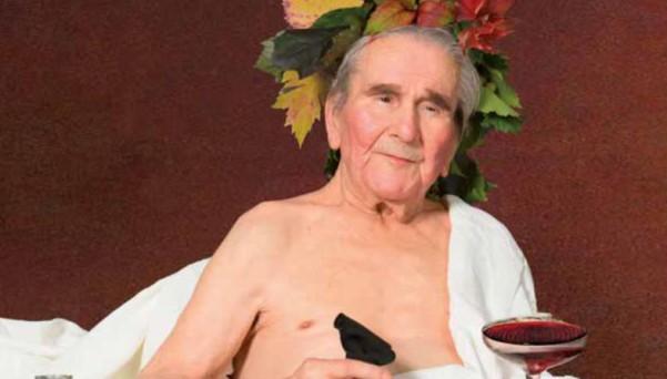 """""""Ogni vita è un capolavoro"""", opere d'arte interpretate da anziani della casa di riposo Menegazzi, Treviso 2018."""